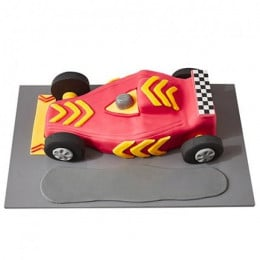 Racing Car Fondant Cake - 3 KG