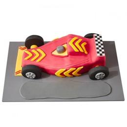 Racing Car Fondant Cake - 4 kg