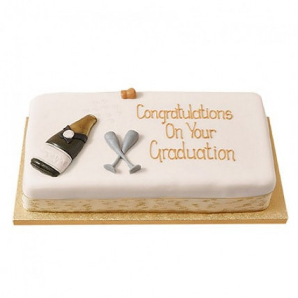 Congratulations Fondant Cake - 1 KG