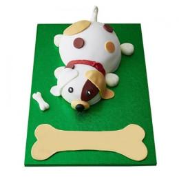 Puppy Fondant Cake - 3 KG