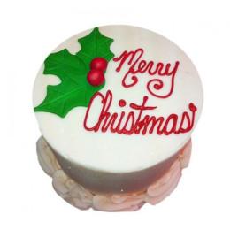 Elegant Christmas Cake - 500 Gm