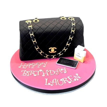 Classy Chanel Cake - 2 KG