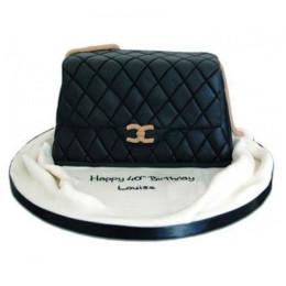 Fondant Handbag Cake - 2 KG