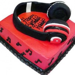 Headphone Shape Cake - 2 KG