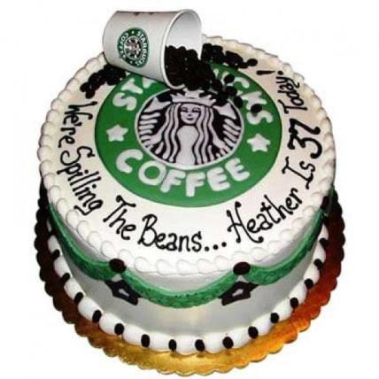 Excess Starbucks Cake - 2 KG