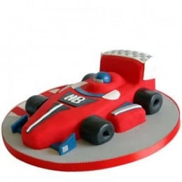 Red Hot Ferrari Car Cake - 4 KG