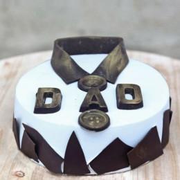 Classic Fondant Dad Cake - 2 KG