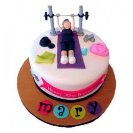 Gym Cake - 2 KG