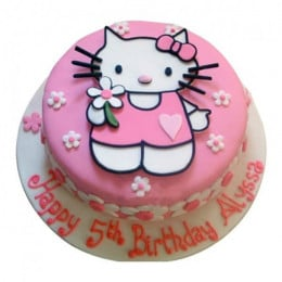 Hello Kitty Birthday Cake - 500 Gm