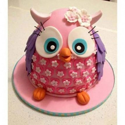 Pinki The Owl Cake - 2 KG