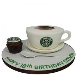 Forever Starbucks Cake - 2 KG