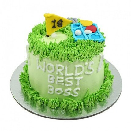 Worlds Best Boss Cake - 1 KG