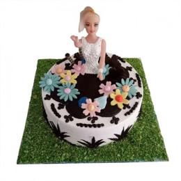 Lovely Baby Doll Cake - 2 KG