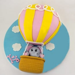 High In The Sky Balloon Cake - 2 KG