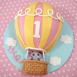 Flying Balloon Cake - 2 KG