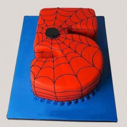 Spiderman Love Numeric Cake - 2 KG