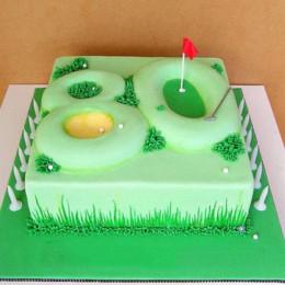 Special Celebration Fondant Cake - 2 KG