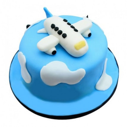 Airplane In The Clouds Cake - 2 KG