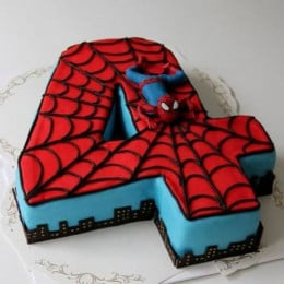 Spiderman Birthday Cake - 2 KG