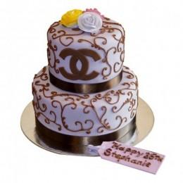 Classy Chanel Cake - 4 KG