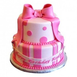 Pink Gift Pack Cake - 4 KG