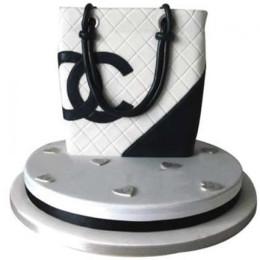 Elegant Chanel Bag Cake - 3 KG