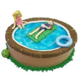 Swimming Pool Cake - 1 KG
