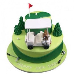Golf Cart Cake - 3 KG
