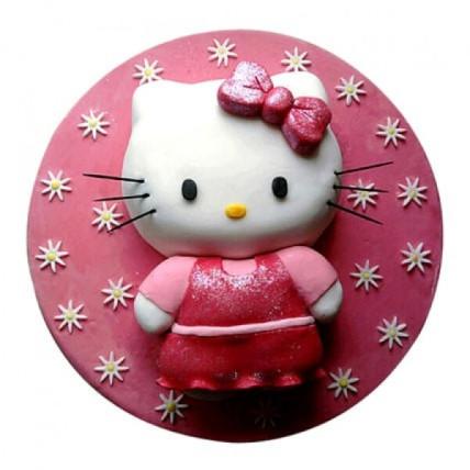 Hello Kitten Cake - 2 KG