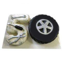Auto Lover Fondant Cake - 3 KG