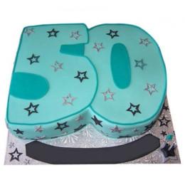 Half Century Cake - 3 KG