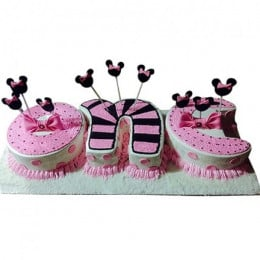 One Semi Fondant Cake - 3 KG