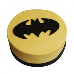 Batman Symbol Of Ecstasy Cake - 500 Gm
