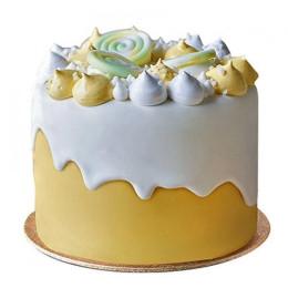 Soothing Fondant Cake - 1 KG
