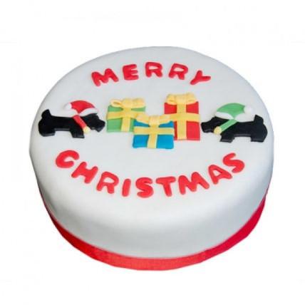 Christmas Celebrations Cake - 500 Gm