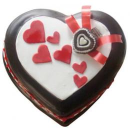 Love In Abundunce Valentine Cake - 1 KG