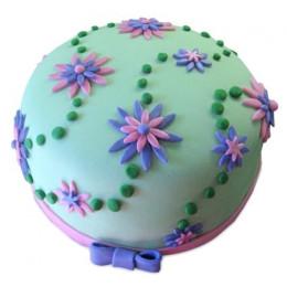 Flower Garden Cake - 500 Gm
