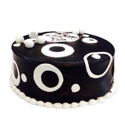 Black And White Cake - 500 Gm