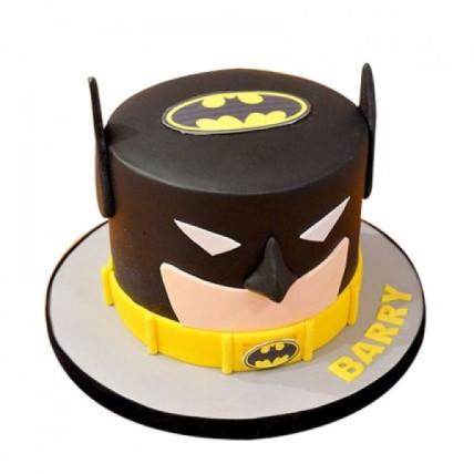 Batman Mask Cake - 1 KG