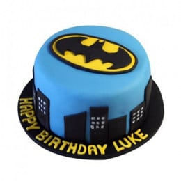 Batman N Gotham City Cake - 500 Gm