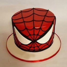 Glorious Spiderman Cake - 1 KG