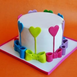 Colors Of Love Cake - 1 KG