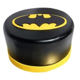 Shining Batman Cream Cake - 500 Gm