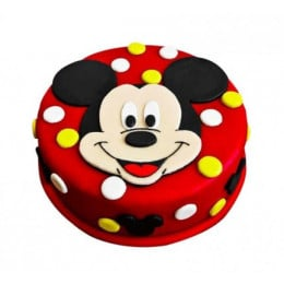 Adorable Mickey Mouse Cake - 1 KG