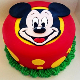 Fabulous Mickey Mouse Cake - 1 KG