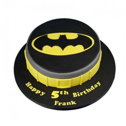 Batman Symbol Cake - 500 Gm