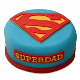 Yummy Super Dad Special Cake - 500 Gm