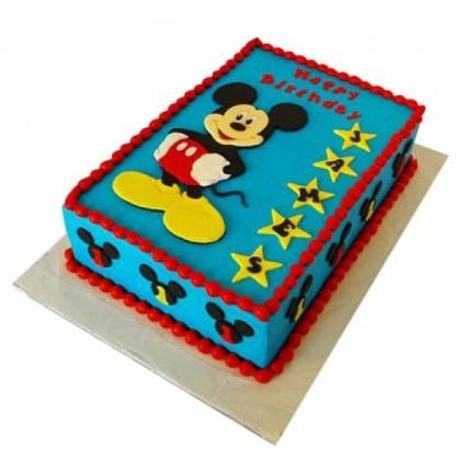 Mickey Mouse Designer Cake - 500 Gm