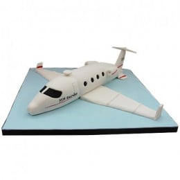 White Airplane Cake - 3 KG