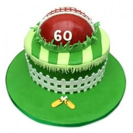 Designer Cricket Fever Cake - 2 KG